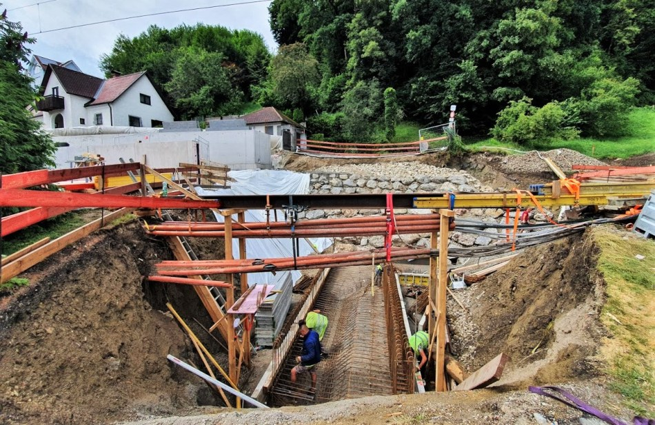 Baustelle Krautberg 17. Juli 2020