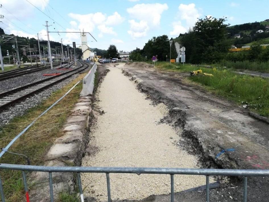 Neue Trasse Citybahn - 2. Juli 2020 Foto Wachauer