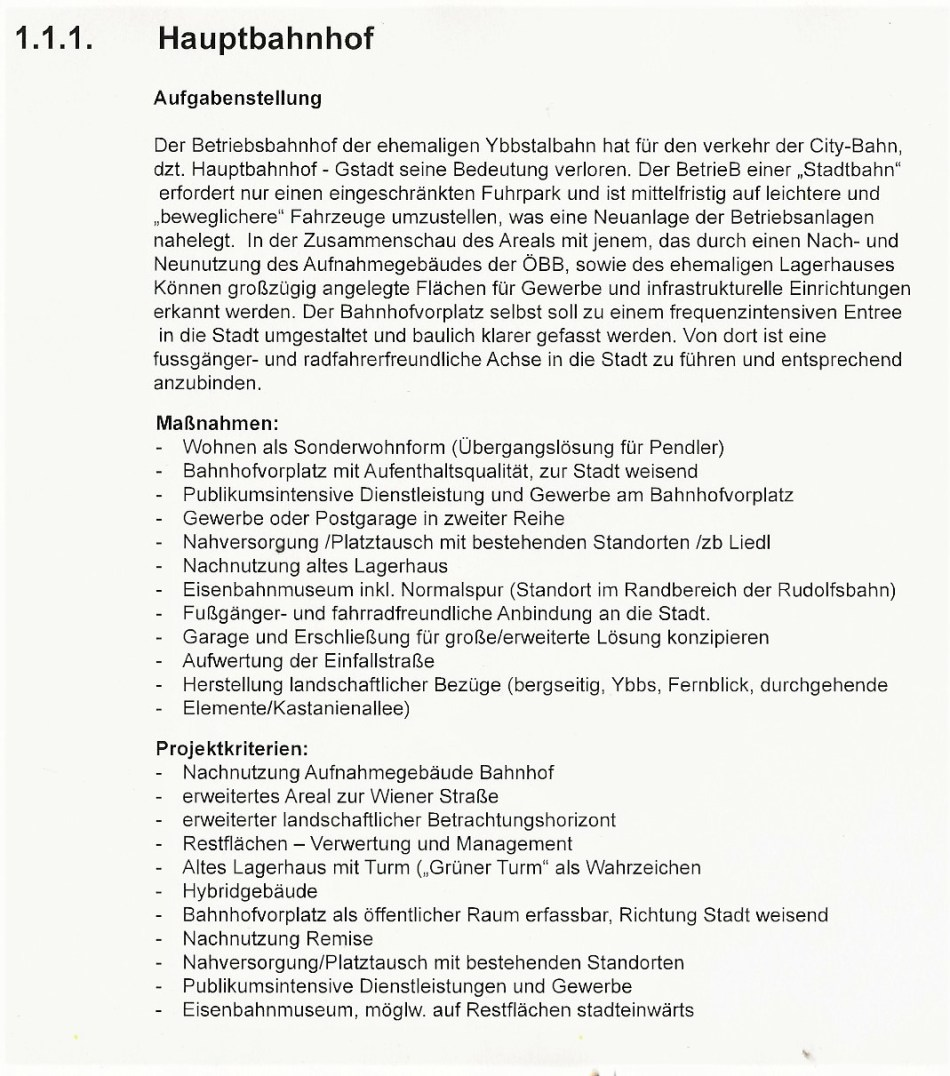 Hauptbahnhof - Neues Stadtprojekt