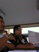 YDP Mat Asis (in glassses) and Naib YDP 2012 Dr. Zamros