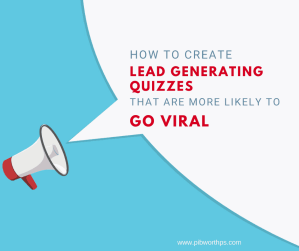 lead generating quizzes going viral