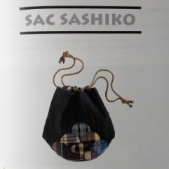 "Sac sashiko Annlee Landmann, dans ""Patchwork traditionnel"""