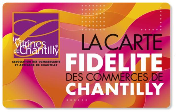 Carte fidélité commerçants chantilly