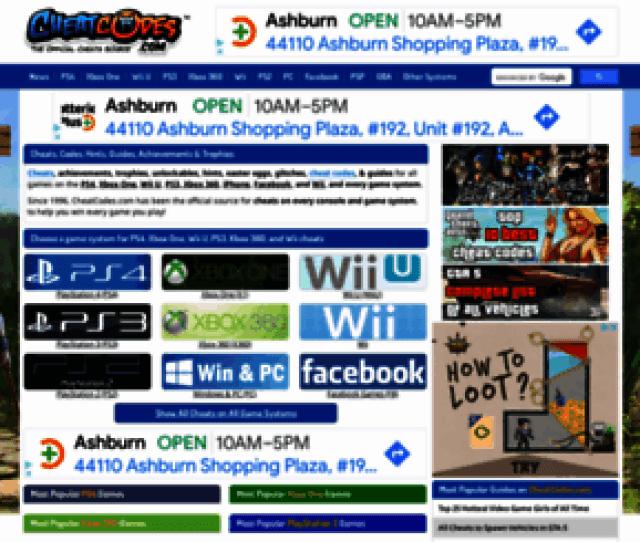 Psp Cheats Cheatcodes Com Screenshot