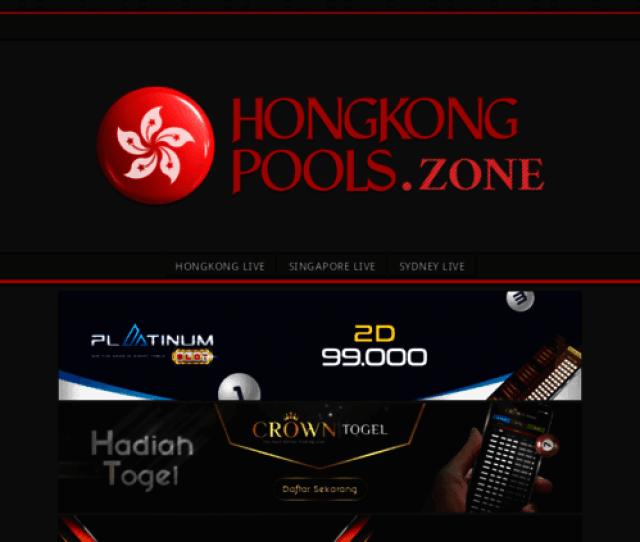 Access Hongkongpools Zone Forum Prediksi Togel Paito Dan