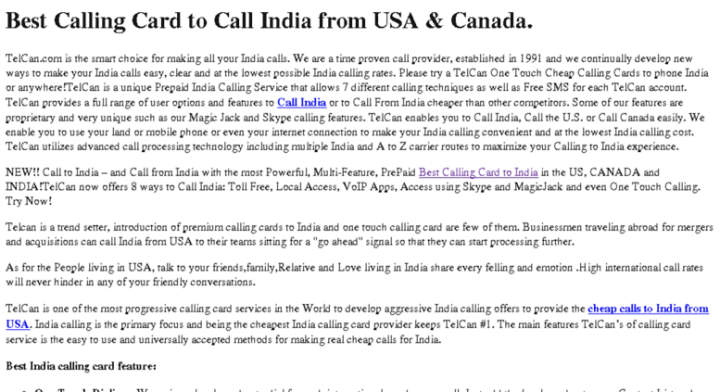 access indiald net call india by calling card from usa - India Calling Card From Usa