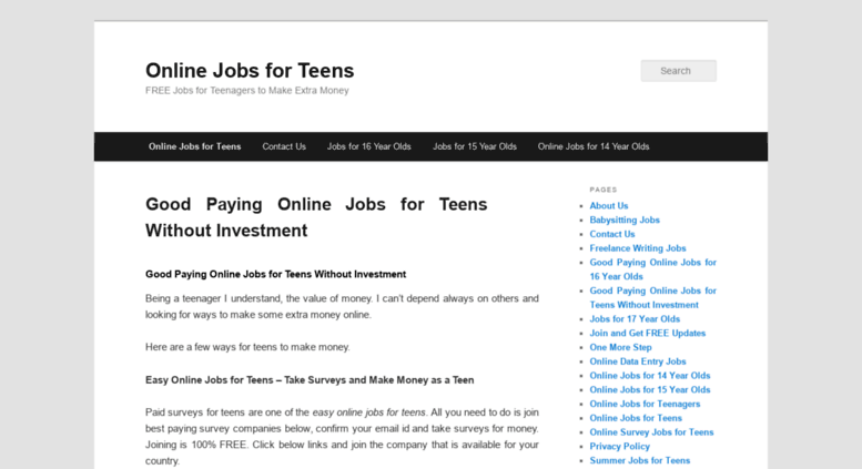 Great Summer Jobs For 15 Year Olds Yoktravels Com