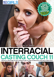 Interracial Casting Couch 11 cover