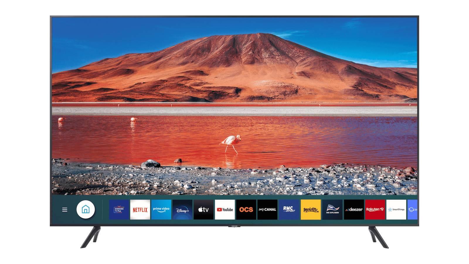 la tv led samsung 55 4k a un prix