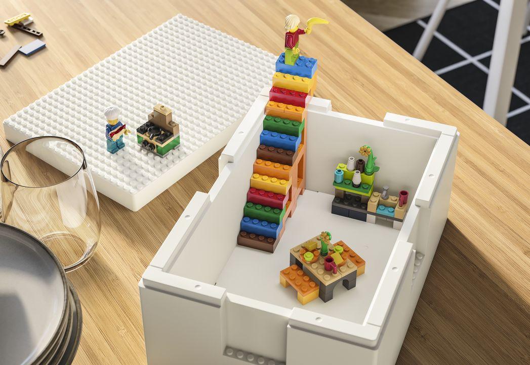 ikea et lego collaborent pour la boite