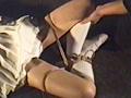 緊縛テニスウェア・尻肉下着嬲りのサンプル画像