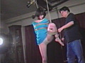 鼻孔吊り緊縛妻・乳汁強制搾りのサンプル画像