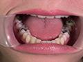 63ミリ長舌姫の口腔と特濃唾液の顔舐めのサンプル画像