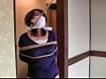 美人妻を縛ってレイプのサンプル画像