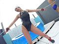 水濡粘絶 競泳水着1のサンプル画像