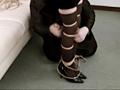 美脚之友 オーバーニーソックスでボンデージのサンプル画像