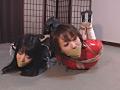 連縛猿轡 女盗賊の苦悶のサンプル画像2