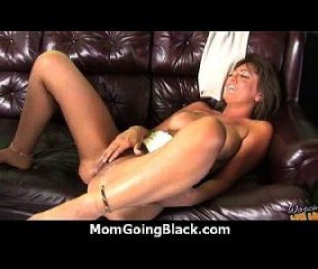 Monster Black Cock Bangs My Moms White Pussy 25