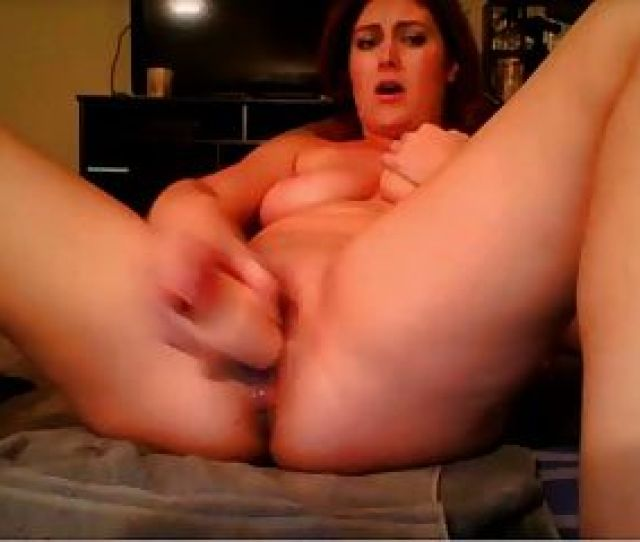 Girl Fucks Herself With Dildo For Squirt Counts