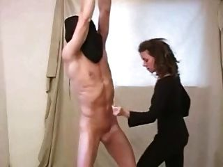 femdom ball whipping