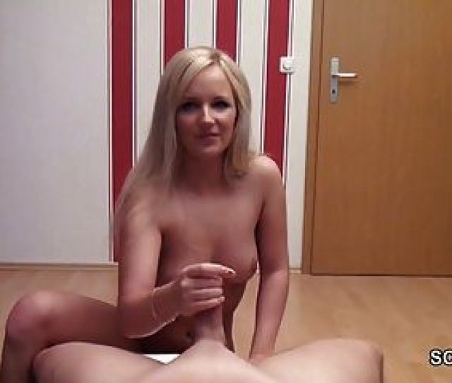 German Step Sister Helps Not Her Step Brother With A Handjob