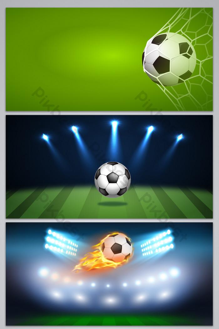 تصميم ملصق خلفيات رياضية للتصميم كرة قدم