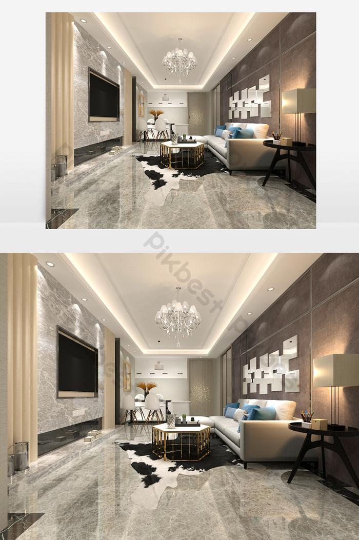 salon de mode ultra moderne de luxe