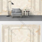 Simple European Plaster Line Marble Border Tv Background Wall Decors 3d Models Psd Free Download Pikbest