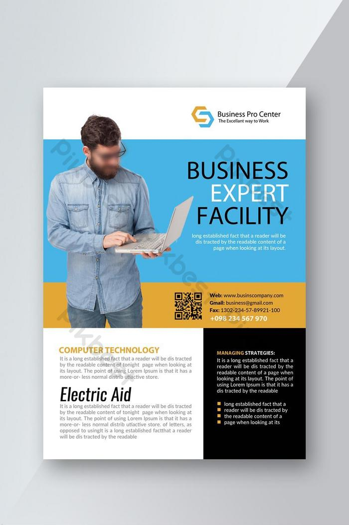 Digital Marketing Business Flyer Psd Free Download Pikbest