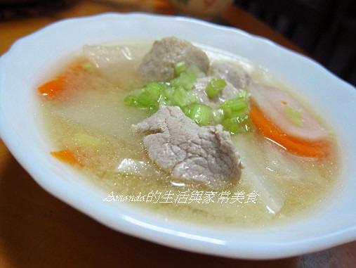 蘿蔔味噌湯