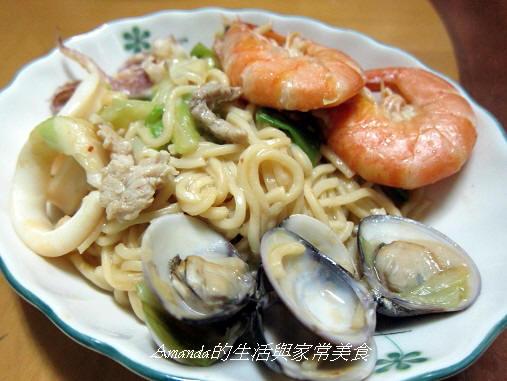 海鮮炒麵 (1)