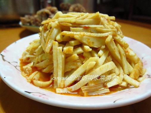 豆瓣炒鮮筍
