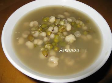 薏仁綠豆湯
