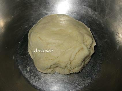 芝麻餅乾麵團