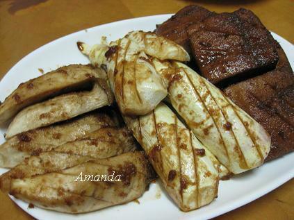 烤鮮蔬、豆干.JPG
