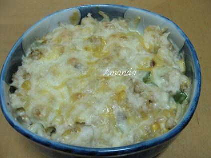 鮮蔬焗烤飯