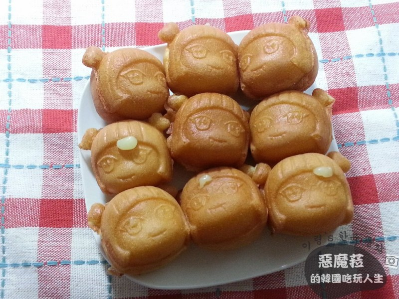 ●【韓國特色美食】仁寺洞│愛神邱比特雞蛋糕 막시야,사랑해 빵(인사동 맛집)