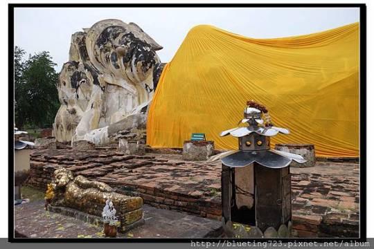 泰國大城府《Ayutthaya大城》羅卡雅蘇塔寺WAT LOKAYA SUTHARAM臥佛4.jpg