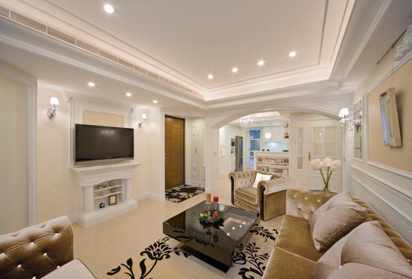 美式鄉村新古典室內設計