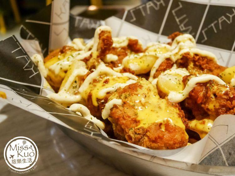 【高雄。食記】KATZ Fusion Restaurant 卡司複合式餐廳 高雄文化中心店。韓式炸雞。韓式特色料理