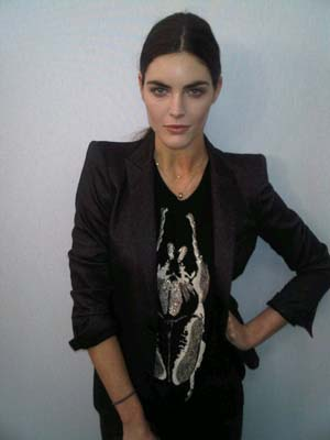 Givenchy F/W 2011 - Hilary Rhoda