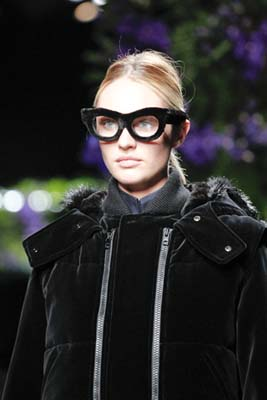 Givenchy F/W 2011 - Candice Swanepoel
