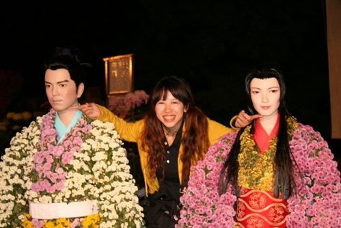 這是黑道大哥的葬禮嗎!??  福島縣菊人形的綺麗世界