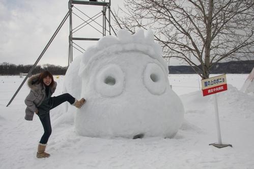 從十年難得一見的暴風雪中歸來…北海道真好玩ㄋㄟ