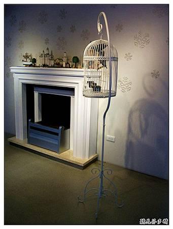 鳥籠與壁爐