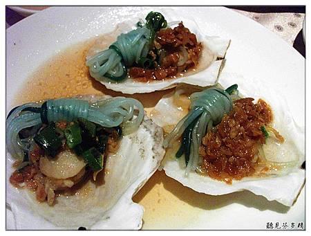 蒜蓉蒟蒻扇貝