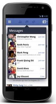 [Android] Facebook App 更新,通知列、功能選單乾坤大挪移 facebook-app-002_thumb