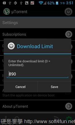 Android 設備變身 BT 下載機,既省電又不怕操壞硬碟! utorrent-06_thumb