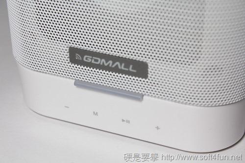 [評測] GDMALL BT1000 無線藍芽配對喇叭(喇叭介紹篇) IMG_7739