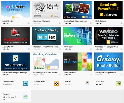 支援 Google雲端硬碟的17款第三方應用程式已上架 Chrome Web 商店 Google-drive-